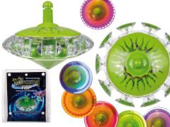 Gyroskop-Kreisel mit Licht, sortiert