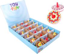 Toy Fun Kreisel 5 cm, 6-fach sortiert