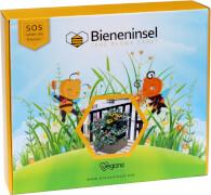 Pflanzkasten mit kindgerechtem Begleitbuch zur Rettung von Wildbienen