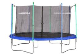 Hudora Fun Trampolin 400, blau/grün