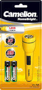 Camelion SuperBright LED Taschenlampe inklusive Batterien
