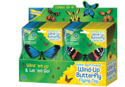 Wind-Up Butterfly, sortiert