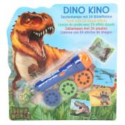 Depesche 4955 Dino World Taschenlampe mit Bildeffekten, Dino Kino
