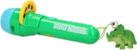 Depesche 5950 Dino World Taschenlampe mit Bbildeffekten