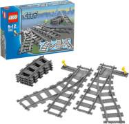 LEGO® City 7895 Weichenpaar, 6 Teile