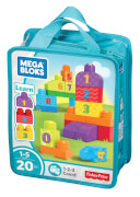 Mattel Mega Bloks 123 Count