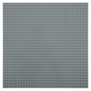 STACKABLE Baseplate (25x25 cm) dark grey