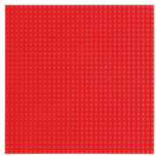 STACKABLE Baseplate (25x25 cm) red