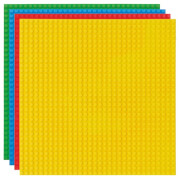 STACKABLE Baseplates (25x25 cm) red/blue/green/yellow