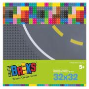 STACKABLE Road Straight (25x25 cm) 2 Pack (2 x Kurvenplatten)
