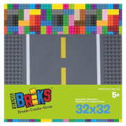 STACKABLE Road Straight (25x25 cm) 2 Pack (2 x gerade Platten)