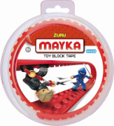 MAYKA TAPE - SMALL 1M 2 NOPPEN - ROT