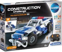 Clementoni Construction Challenge - Polizeifahrzeuge