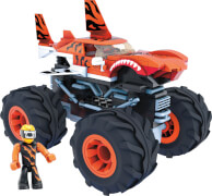 Mattel GVM26 Mega Construx Hot Wheels Monster Trucks Tiger Shark
