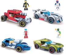 Mattel GVM28 Mega Construx Hot Wheels Rockin Racers, sortiert