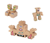 Abanico FabBRIX Monsters (3in1)