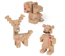 Abanico FabBRIX Forest Friends (3in1)