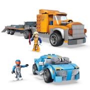 Mattel GYG66 Mega Construx Hot Wheels Twinduction Hauler Pack