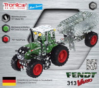 RCEE tronico Mini Fendt 313 Vario mit Anhänger