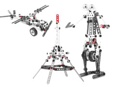 AMIGO 13838 Spin Master Meccanoid Toolbox 150 T.