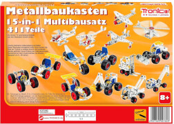 15-in-1 Metallbaukasten