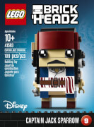 LEGO® Brick Headz 41593 Captain Jack Sparrow