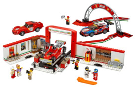 LEGO® Speed Champions 75889 Ferrari Ultimative Garage, 841 Teile