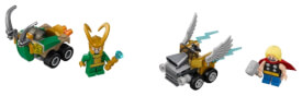 LEGO® Marvel Super Heroes 76091 Mighty Micros: Thor vs. Loki, 79 Teile, 79 Teile