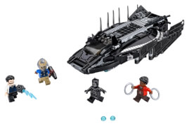 LEGO® Marvel Super Heroes 76100 Royal Talon Attacke, 358 Teile