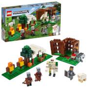 LEGO® Minecraft 21159 Der Plünderer-Außenposten