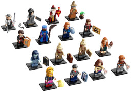 71028 Minifigures Special Blindback, Sept. '20