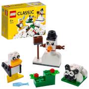LEGO® Classic 11012 Kreativ-Bauset mit weißen Steinen