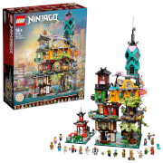 LEGO® NINJAGO 71741 Die Gärten von NINJAGO® City
