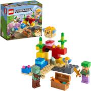 LEGO® Minecraft? 21164 Das Korallenriff