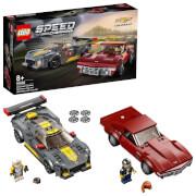 LEGO® Speed Champions 76903 Chevrolet Corvette C8.R & 1968 Chevrolet Corvette