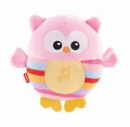 Mattel Fisher Price Leuchtende Kuschel-Eule pink
