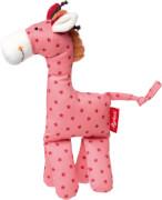 Sigikid 41671 Kuschelfigur Giraffe pink, 22 cm, ab 0 Monate