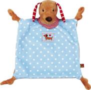 Die Spiegelburg 14443 BabyGlück - Schnuffeltuch Hündchen, ab 0 Monate