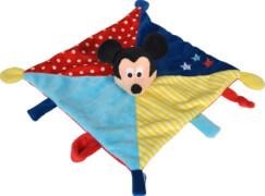 Nicotoy Disney Mickey 3D Schmusetuch Color