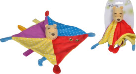 Nicotoy Disney Winnie Puuh3D Schmusetuch, Color