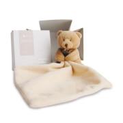 Doudou - Bär mit Schmusetuch, natur 10cm