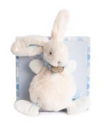 Doudou - Bonbon Hase Schmusetuch,blau 26cm