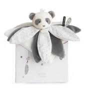 Doudou - Traumfänger Panda Schmusetuch Blüte 26cm