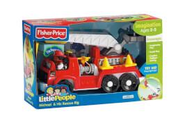 Mattel Fisher Price Little People Feuerwehrauto
