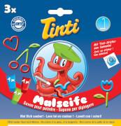 Tinti Malseife 3er Pack (1x grün, 1x rot, 1x blau), ab 3 Jahren