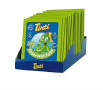 Tinti Badewasserfarbe grün, Einzelsachet