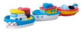 Magnetische Boote für die Badewanne