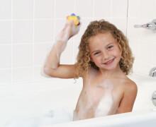 Malen in der Badewanne