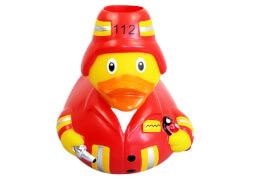 Zahnbürstenhalter Feuerwehr-Ente
