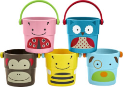Skip Hop Zoo Bath Buckets